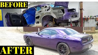Rebuilding a Wrecked Dodge 2016 Hellcat Still a Better Deal Than Copart Part 9