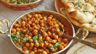 Chana Masala Recipe  Chickpea Curry Recipe  Chole Bhature Recipe  How To Make Chickpeas Recipe