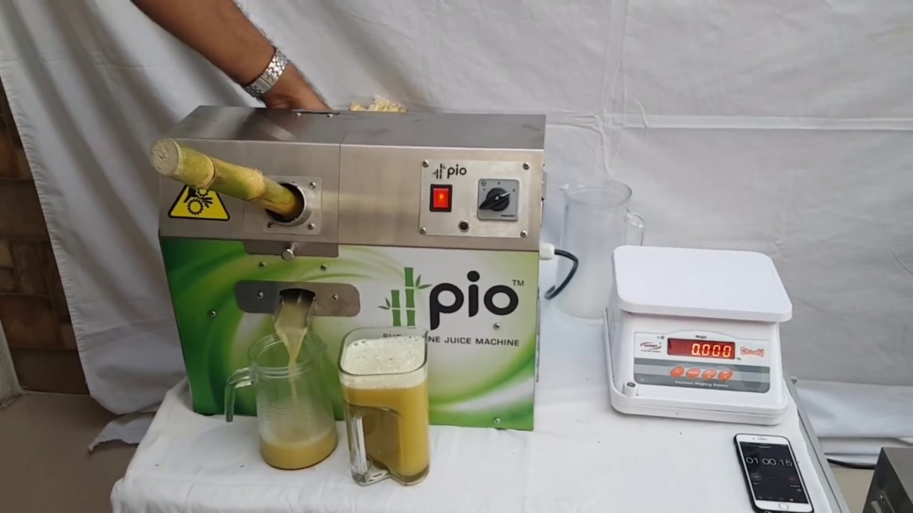Revolutionary Mini Sugarcane Juice Machine Youtube