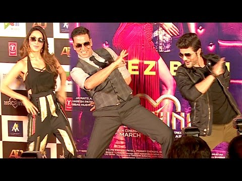 Akshay Kumar - Tu Cheez Badi Hai Mast Mast Remix Song Launch Full Video HD |Machine|Mustafa,Kiara