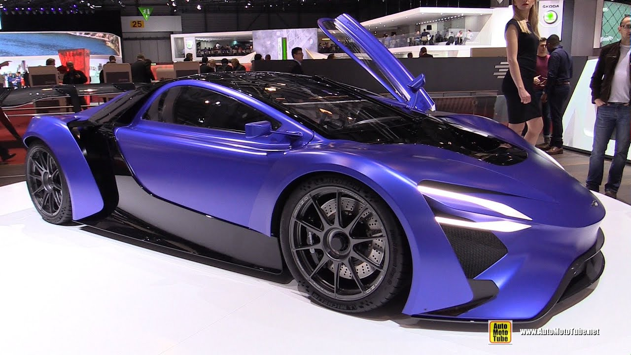 supercar concept electric techrules at96 motor interior exterior trev