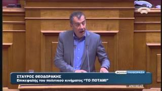 Σ.Θεοδωράκης(Επικ.ΠΟΤΑΜΙ)Προ Ημερησίας Διατάξεως Συζήτηση(Ασφάλεια Πολιτών)(20/04/2016)