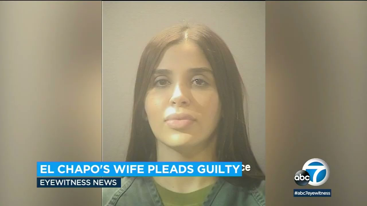 Emma Coronel Aispuro, Wife of 'El Chapo,' Pleads Guilty to Playing ...