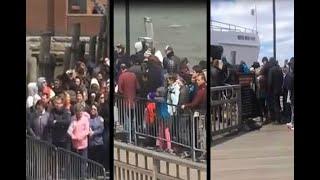 Desalojan Estatua de la Libertad por amenaza de bomba