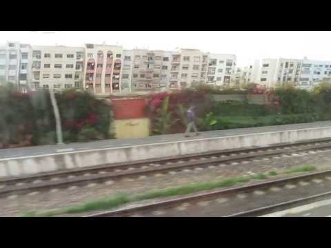 train runs from CASABLANCA VOYAGEURS to TANGER (1)