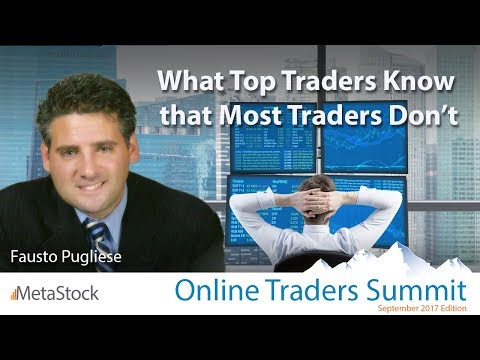 What Top Traders Know that Most Traders Don't