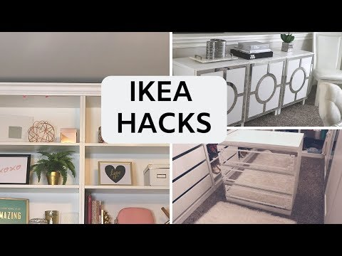 DIY IKEA FURNITURE HACKS | Build Custom Designs!