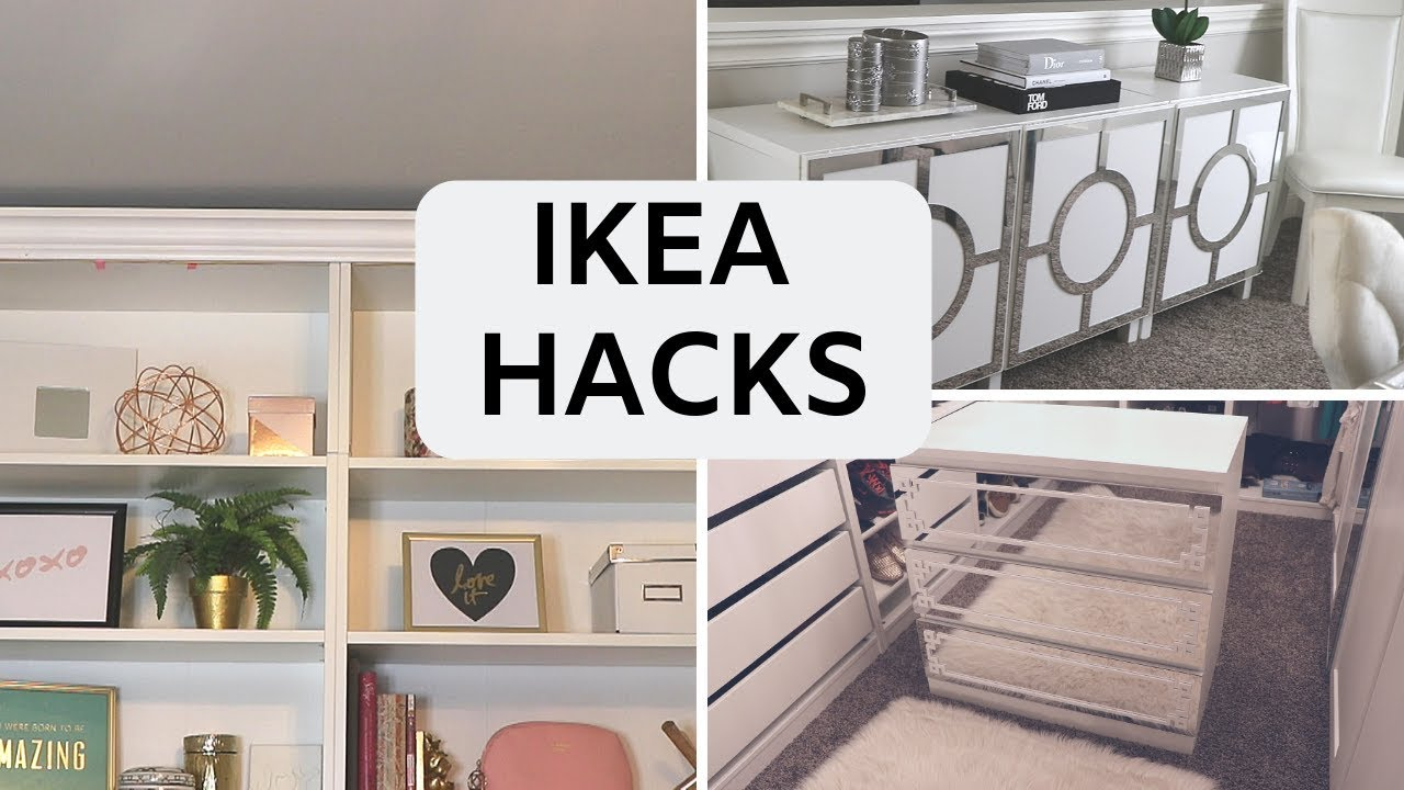 Diy Ikea Furniture Hacks Build Custom Designs Youtube