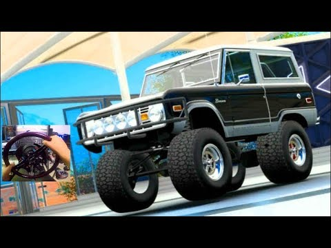 ITS HUGEEE!!! FH3 GoPro MODS! Driving a 5700hp Monster Truck Bronco!!