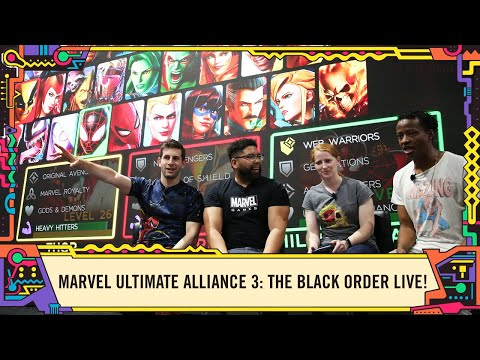 MARVEL ULTIMATE ALLIANCE 3: The Black Order LIVE @ SDCC 2019