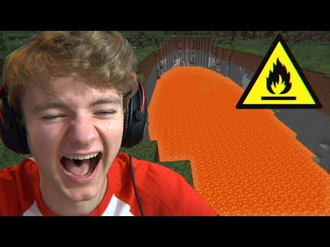 Minecraft's Lava Ravine Mod is actually funny... - TommyInnit