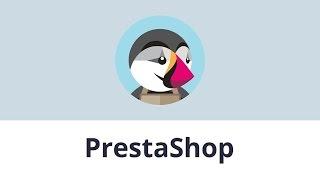 بريستاشوب 1.7.x. كيفية إنشاء الفئة و إسناد ذلك إلى أعلى القائمة