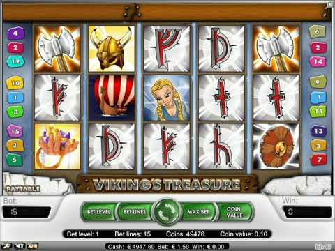 Игровой автомат Viking's Treasure играть бесплатно и без регистрации онлайн