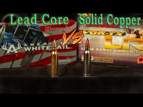 Lead Bullets VS Copper Bullets