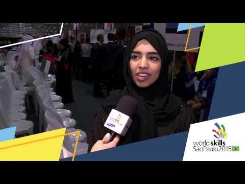 Laila ALMahri, WorldSkills Competitor from United Arab Emirates