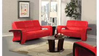 Red Leather Couch Decorating Ideas