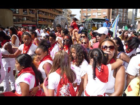 Calahorra La Rioja Fiestas verano 2017 La subidilla al Raso