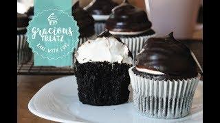 Moist Chocolate Cupcake with Marshmallow Fluff Recipe