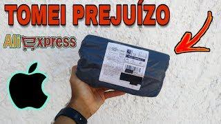 Comprei no Aliexpress e me dei mal | unboxing iPhone | TOMEI PREJUÍZO DESSA VEZ!