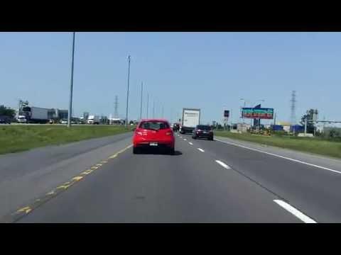 Jean Lesage Expressway (Autoroute 20 Exits 98 to 90) westbound