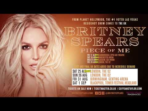 Britney Spears Piece of Me Tour with Special Guest Pitbull