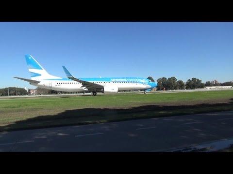 Plane Spotting   Aeroparque Jorge Newbery   Buenos Aires   Parte 1/2