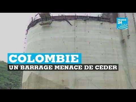 Un barrage menace de céder  en Colombie : 25 000 personnes déjà évacuées