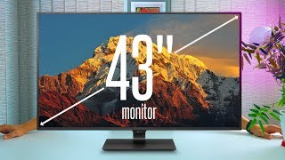 "How big is TOO BIG? My Review of LG's MASSIVE 43"" IPS 4K Monitor [43UD79]"