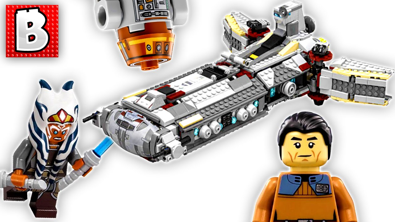Lego Star Wars Rebel Combat Frigate Set 75158 Unbox Build Time Lapse Review