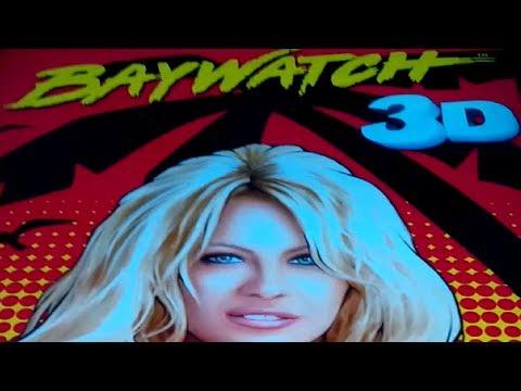 Baywatch 3D Slot - GRAND PROGRESSIVE & Bonus, NICE!