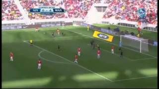 7/21/2012 香川寄りハイライト Ajax Cape Town vs Manchester United high light shinji kagawa