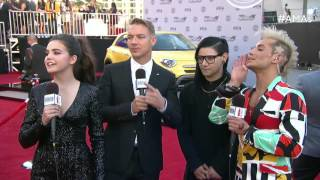 Skrillex and Diplo Red Carpet Interview - AMAs 2015