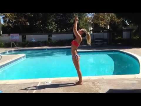 Pool Side Yoga - Savvy