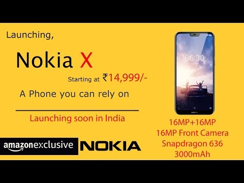 Nokia X - The New Camera Beast by Nokia! - Price & Release Date in India - Specifications!