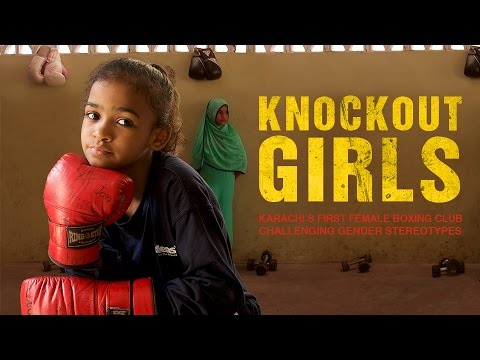 Knockout Girls. Karachi's first female boxing club, challenging gender stereotypes.