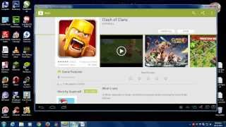 how to dowload install clash of clans in pc 2014 free windows mac