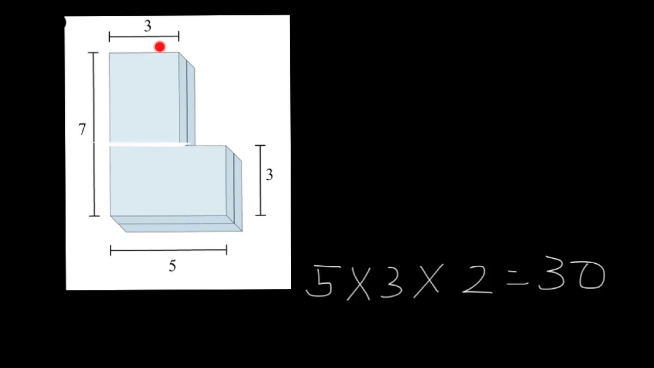 small resolution of unit 3 lesson 6 finding total volume - YouTube