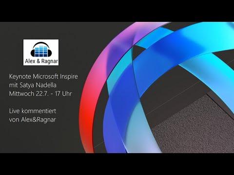 Alex & Ragnar Live Talk zur Keynote von Satya Nadella auf der Inspire 2020