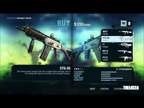 FarCry 3: All weapons In-Store list