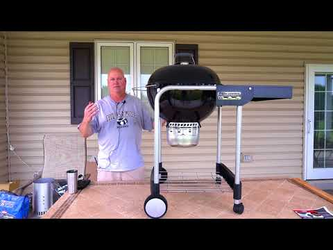 """Weber Performer 22"""". Unboxing, Assembly and Review"""