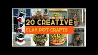 Clay Pot Craft Ideas
