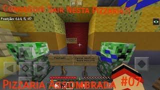Minecraft PE: Pizzaria Assombrada #7 [FINAL DA SÉRIE] Conseguir Sair Nesta Pizzaria?!