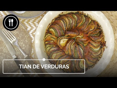 TIAN DE VERDURAS, la mejor forma de comer vegetales de una manera original | Instafood