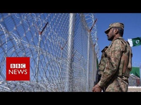 पाकिस्तान सीमा बाड़ विवाद का कारण बनता है - बीबीसी समाचार