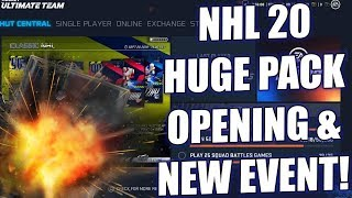 ICON PULL! - HUGE PACK OPENING AND NEW EVENT! - NHL 20