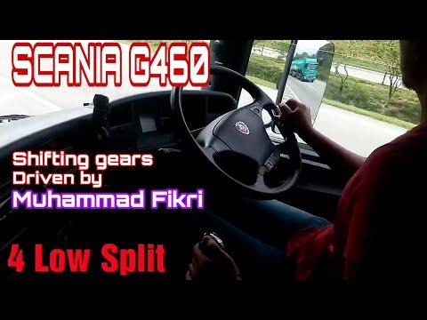 SCANIA G460. Shifting gear. Driven by Muhammad Fikri