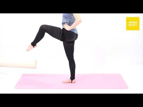 15腸腰筋の加圧トレーニング(レッグスウィング)