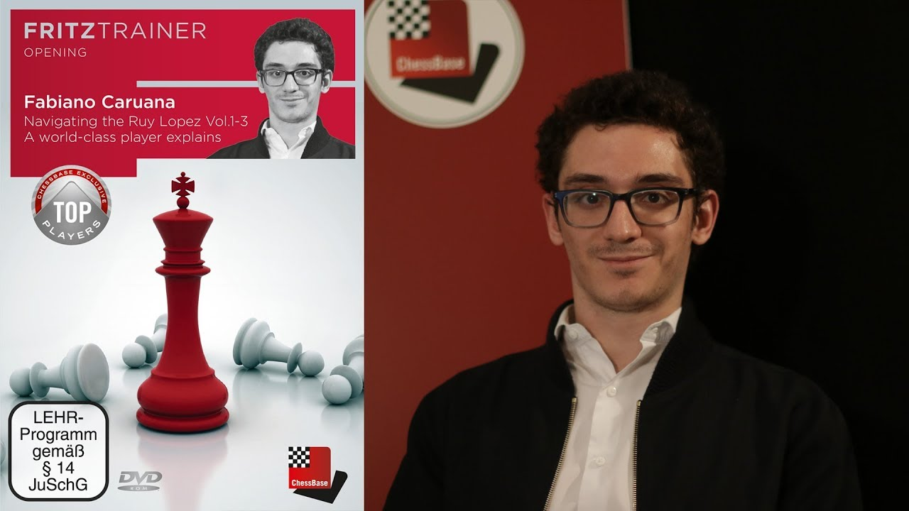 NEW Fabiano Caruana: Navigating the Ruy Lopez | ChessBase