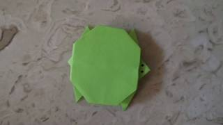 How to make a turtle by using origami - #LearningWithARMY