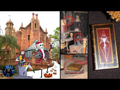 Haunted Mansions Secret Nightmare Before Christmas Easter Eggs at Disneys Magic Kingdom